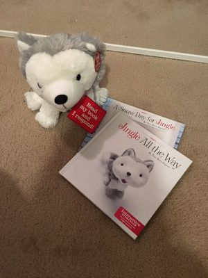 Hallmark Gifts - Jingle The Husky Pup Interactive Storybook And Plush for Sale in Germantown, MD