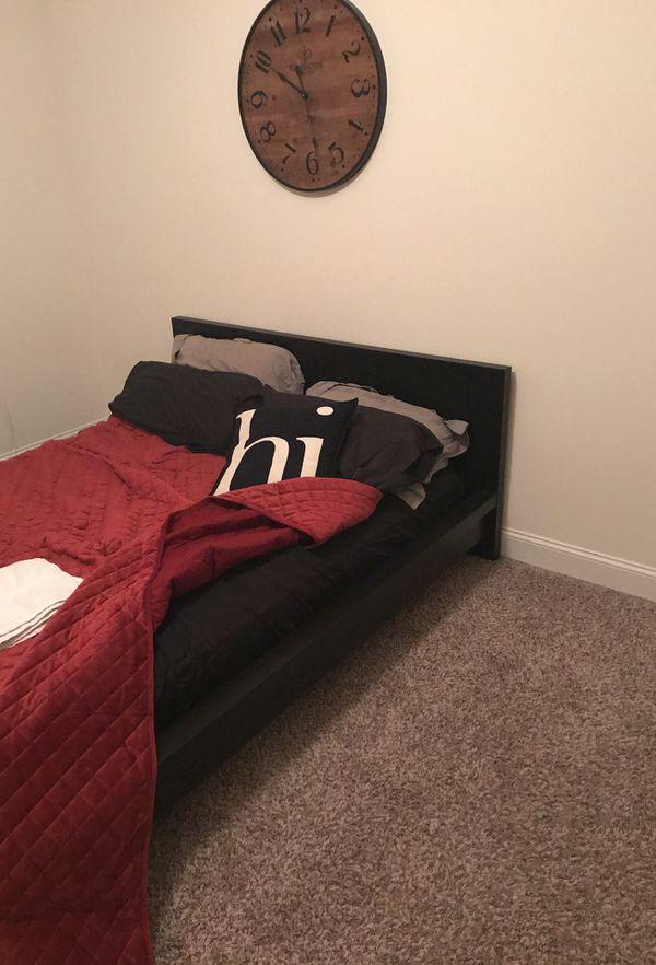 Queen platform bed frame for Sale in Winston-Salem, NC - OfferUp
