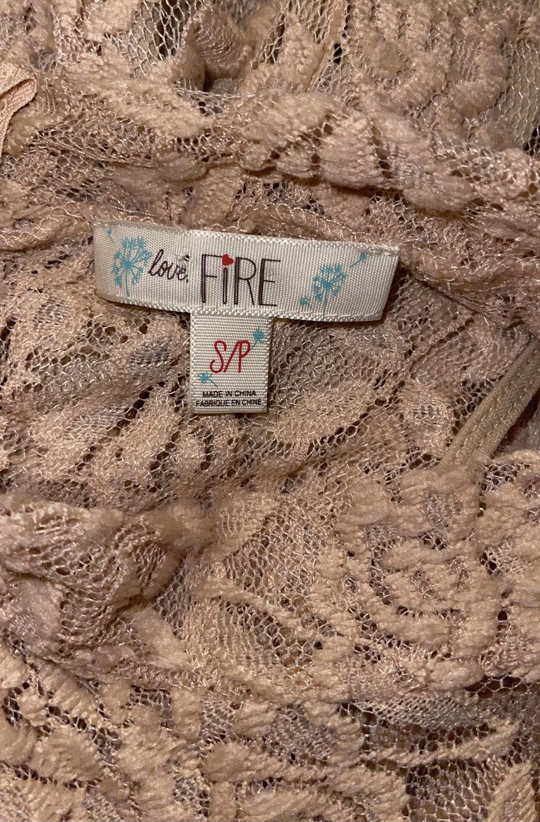 BRAND NEW nude lace mini dress for Sale in Lakeland, FL