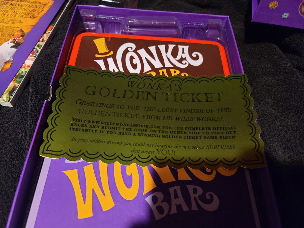 Willy Wonka collectors edition on Blu-Ray