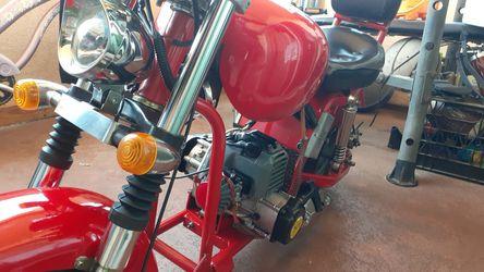 2 stroke 43 cc Classic Mini Chopper Thumbnail
