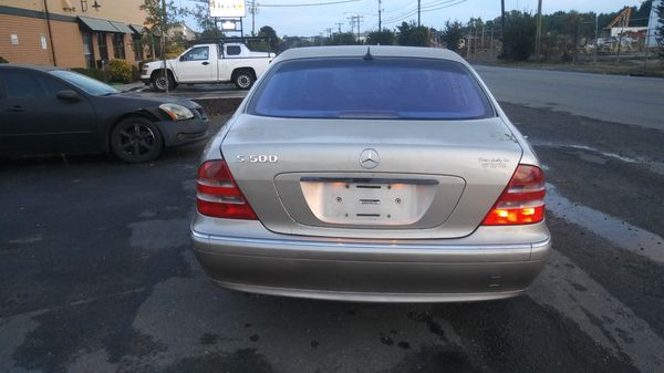 01 mercedes s 500 for sale in charlotte nc offerup. Black Bedroom Furniture Sets. Home Design Ideas