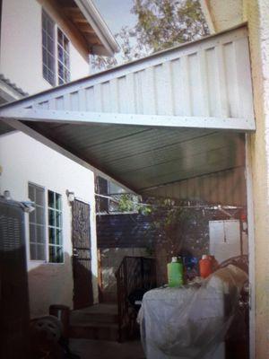 Proteja sus lavadoras de la lluvia y del calor. Se asen techitos..4x40.4x35.4x30.4x25.4x20.4x15.4x10.4x5.asemos todas las medidas for Sale in South Gate, CA