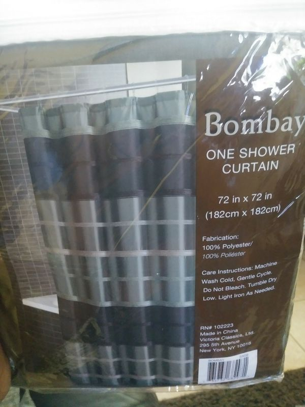 Sage Bombay Shower Curtain For Sale In West Palm Beach FL
