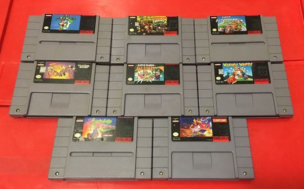 Classic Super Nintendo games for SNES system vintage for Sale in Atlanta,  GA - OfferUp