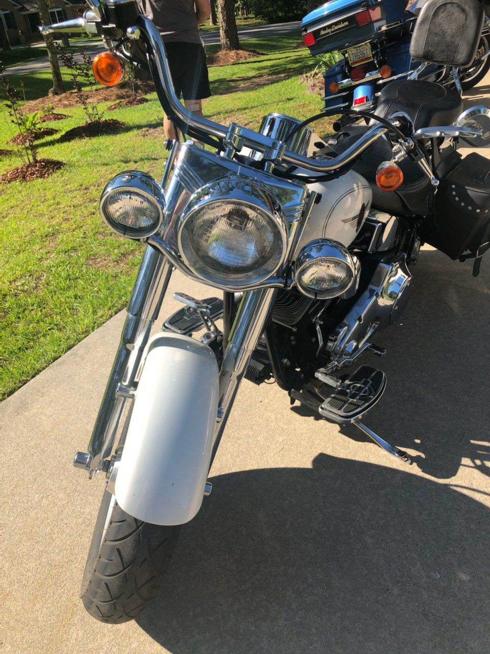 Photo 2000 Harley Fat Boy. No longer 4 sale