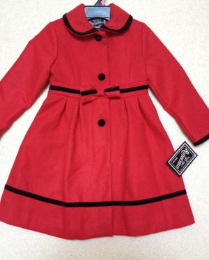 Beautiful Girl's Red Coat. NEW for Sale in Fairfax Station, VA