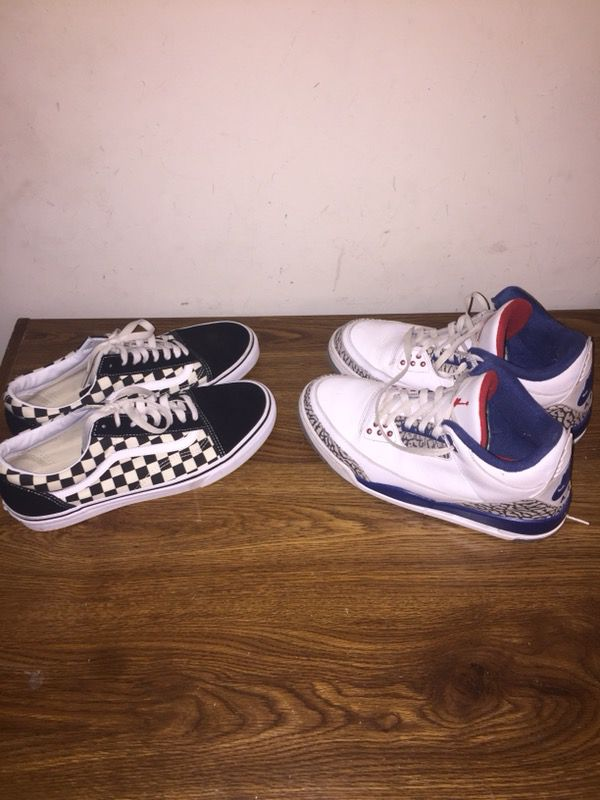 1919a12d50 Checkered Vans and Jordan 3 s for SALE!!! for Sale in Newport News ...