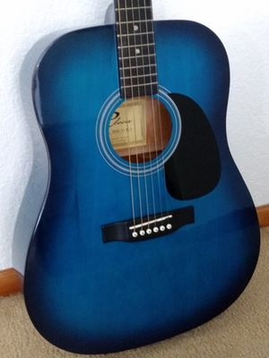 Blue Cleca Guitar for Sale in Federal Way, WA