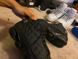 Photo Jordan retro 13 black cat size 13 shoe