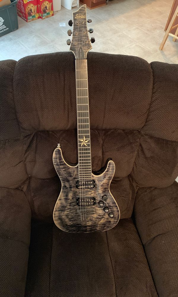 """Schecter Diamond Series 6-String Electric """"Exotic Star"""" — Model H0707326  for Sale in New Bern, NC - OfferUp"""
