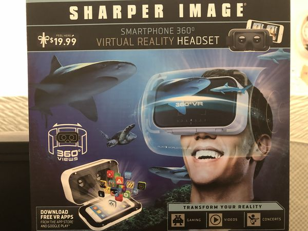 Sharper Image Smartphone 360 Virtual Reality Headset For Sale In