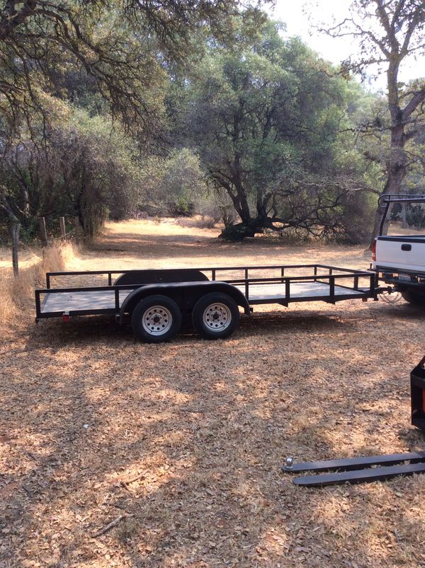 2006 Parker Utility / car trailer hauler. Excellent Condition. for ...