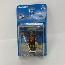 Playmobil NHL Minnesota Wild Goalie 9038 Thumbnail