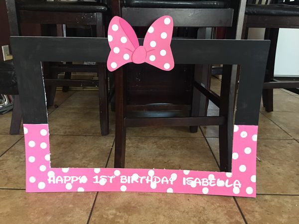 Minnie Mouse frame for Sale in Union City, CA - OfferUp