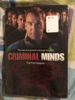 Criminal Minds season 1-6, DVD, willing to sell separately for Sale in Salt Lake City, UT