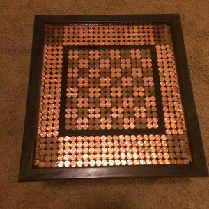 Checker Board Side Table for Sale in Salt Lake City, UT