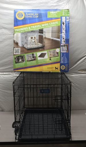 Photo American Kennel Club 24 in. x 20 in. x 18 in. Small Wire Dog Crate