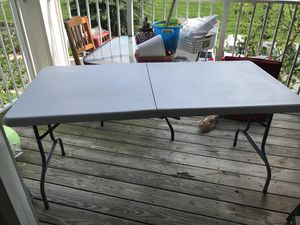 Picnic/party foldable table for Sale in Sterling, VA