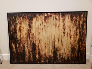 Large Abstract Painting, Great For Modern Home Decor for Sale in Denver, CO