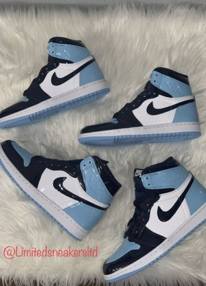 timeless design 5634f 6328d Air Jordan 1 Retro High OG UNC Blu Chill Brand new for Sale in Queens,