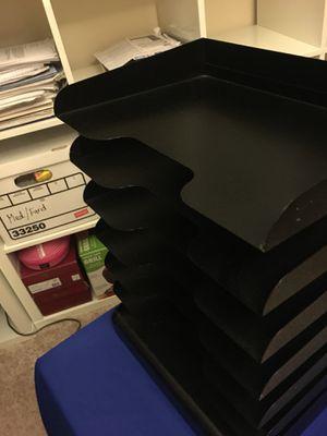 Metal Paper Organizer for Sale in Lincolnia, VA