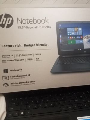 Hp notebook for Sale in Streamwood, IL