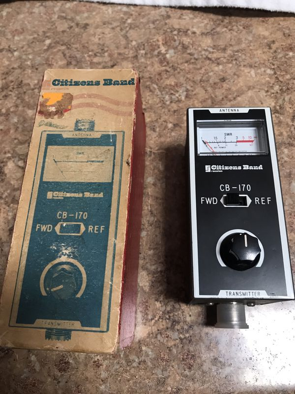 CB RADIO SWR AND FIELD STRENGTH METER for Sale in San Diego, CA - OfferUp