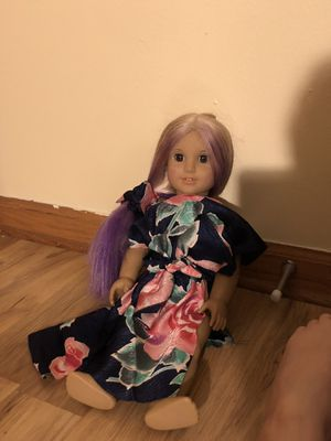 OOAK American Girl with purple hair for Sale in Montgomery, IL
