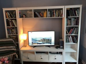 IKEA tv storage unit and bookshelves for Sale in Rockville, MD
