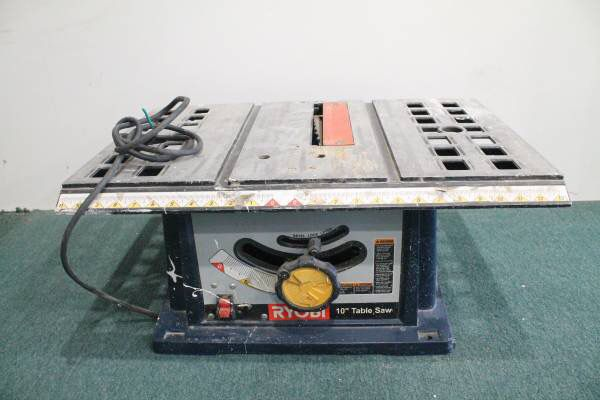 Ryobi bts10 table saw 10 blade well used tools machinery in ryobi bts10 table saw 10 blade well used tools machinery in lawndale ca offerup greentooth Choice Image
