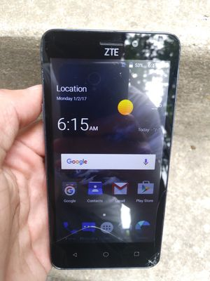 ZTE Sonata 3 Cricket Android Smart Phone for Sale in Hyattsville, MD