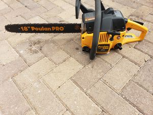 Poulan pro chainsaw for Sale in Orlando, FL