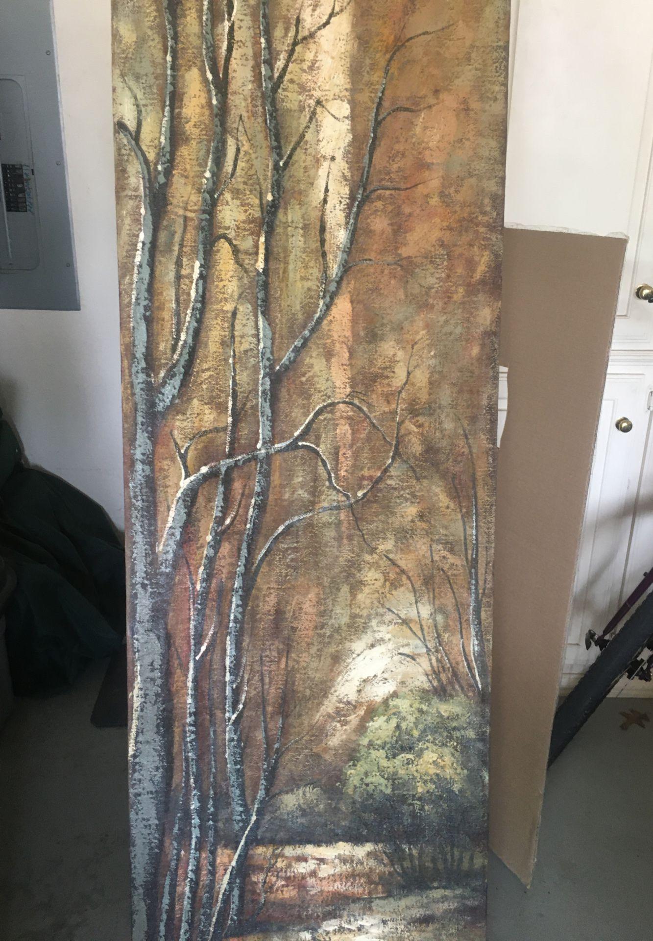Panorama painting