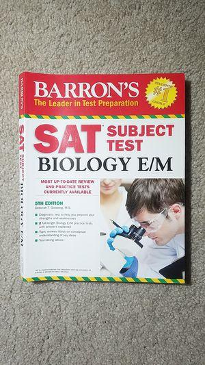 Barron's SAT Subject Test: Biology E/M for Sale in Fairfax, VA