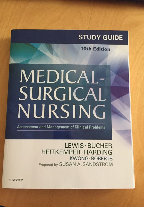 Medical Surgical Nursing Lewis 10th Edition Study Guide For Sale In
