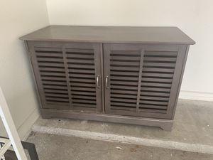 Photo 2 Door Dresser / TV stand for Sale!