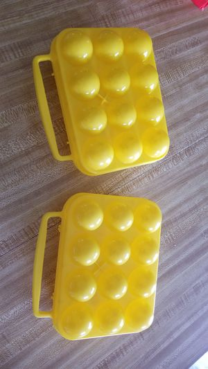 2 x 3.00 Camping egg holders for Sale in Orlando, FL