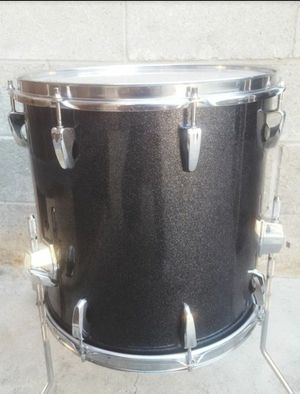 PEARL EXR Export 14x14 floor tom black galaxy sparkle for Sale in Carson, CA