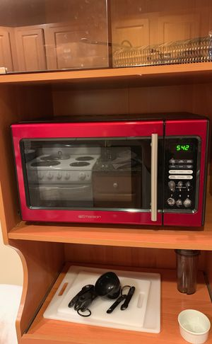 Red Emerson microwave for Sale in Washington, DC