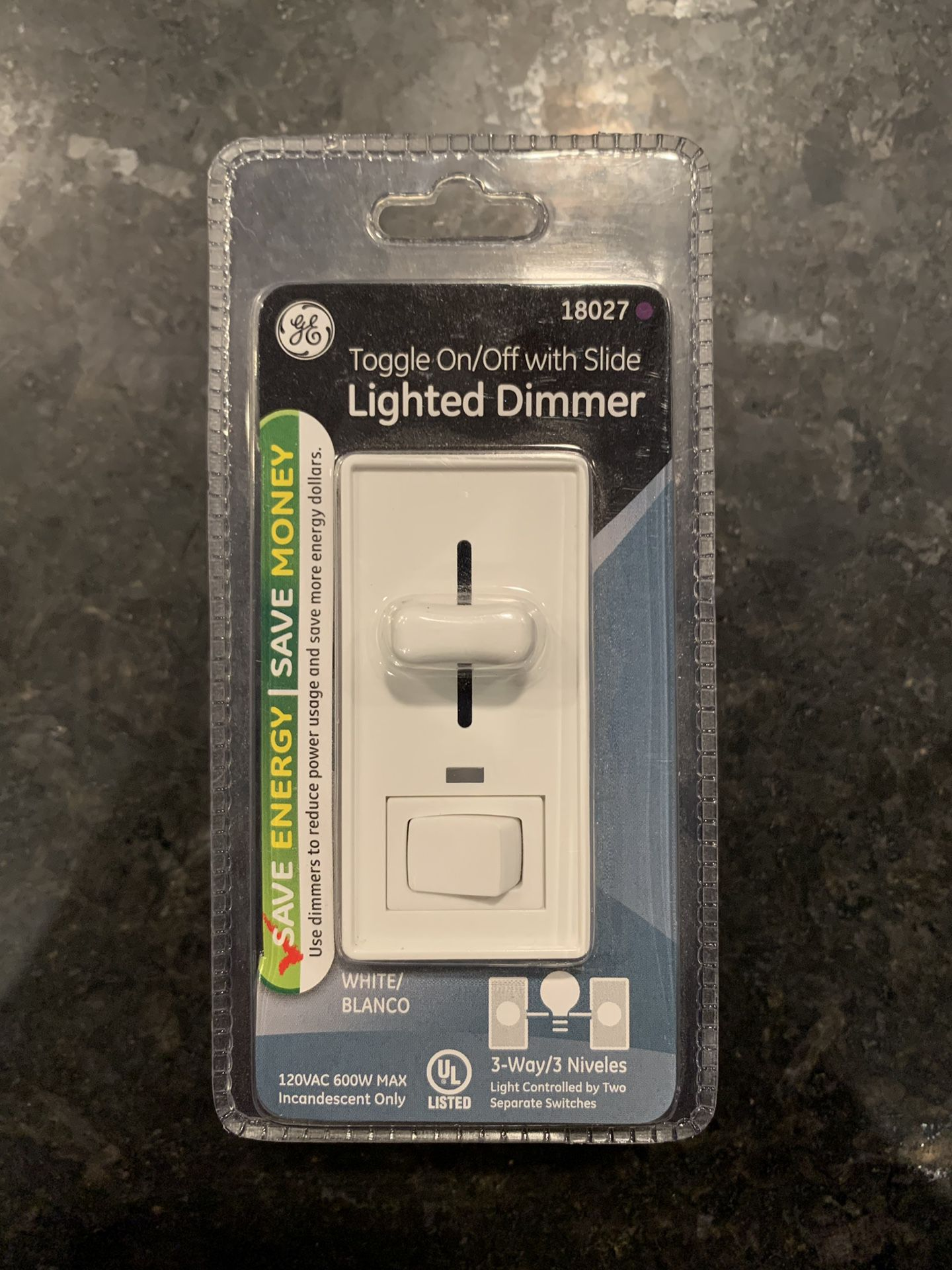 GE Dimmer Switch