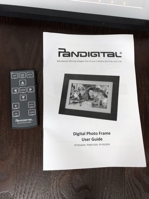 Pandigital Digital Slideshow Frame (Photography) in Troy, OH - OfferUp