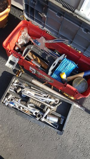 mechanics tool box and tools for Sale in Bowie, MD