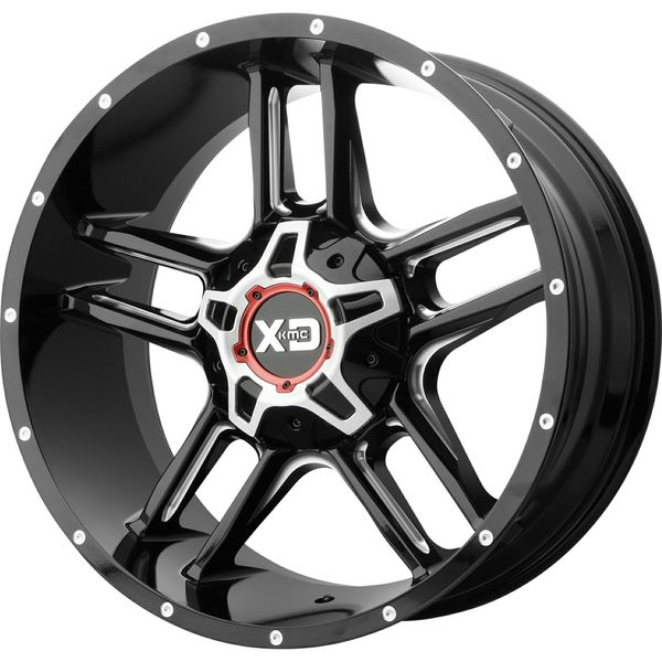 20x12 -44 Offset XD Series Universal 6 Lug For Sale In