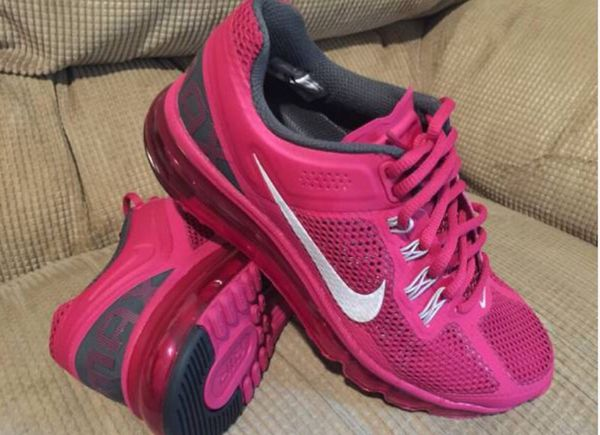 separation shoes c160b 2aac7 Nike Air Max 2013 Women s 6.5 (Sport Fuchsia  Reflective Silver Anthracite)