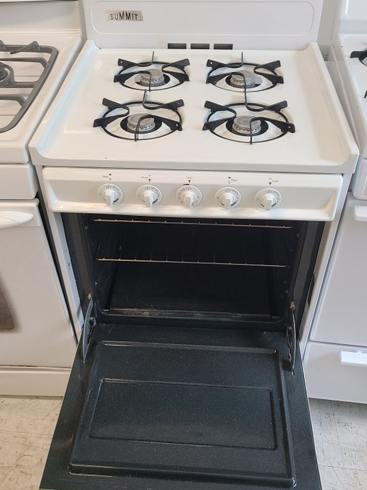 summit Gas Stove Used Good Conditions 90days Warranty