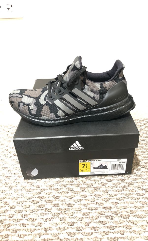 new products dfbb4 49ec3 Ultra boost x bape for Sale in Lombard, IL - OfferUp
