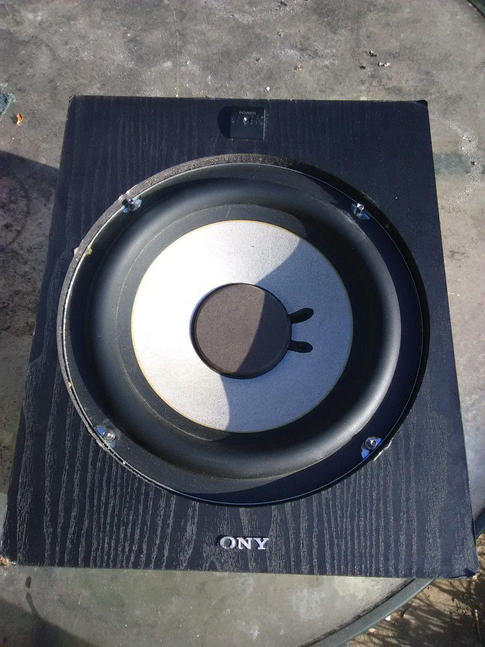 150 watts Sony subwoofer