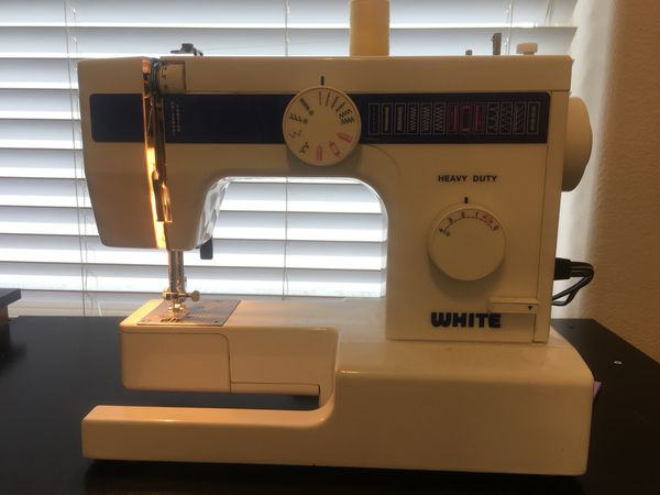 New And Used Sewing Machines For Sale In Los Angeles CA OfferUp Stunning White Heavy Duty Sewing Machine Model 1866