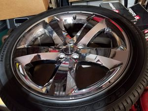 "Used 4 Dodge Challenger SRT Style 20"" x 9"" with tires for Sale in Lake Ridge, VA"